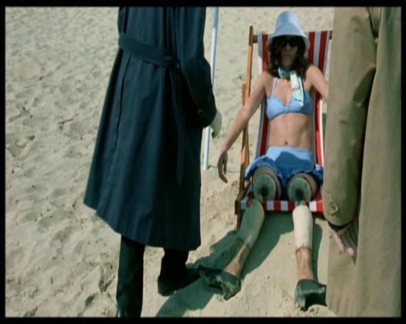 Vittima del killer cui sono state sostituite le gambe con quelle della bambola