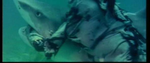 Il non morto lotta con lo squalo
