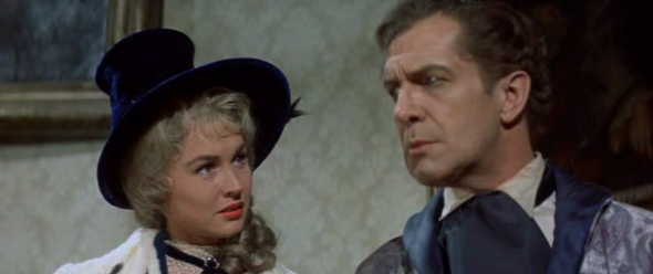 Vincent Price e Maggie Pierce nell'episodio Morella
