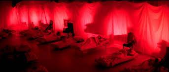 Il dormitorio di fortuna